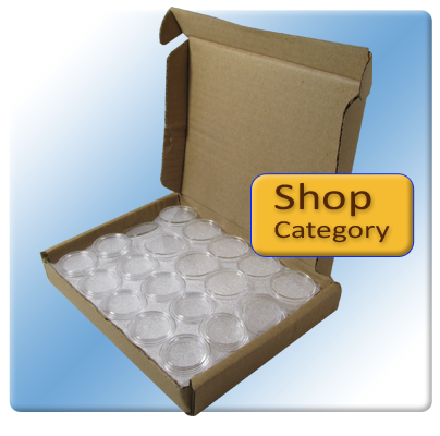50 Pack Direct Fit Coin Capsules