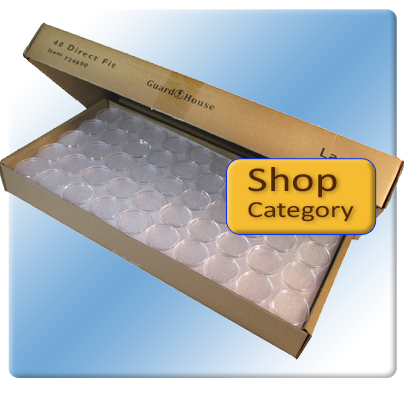 250 Pack Direct Fit Coin Capsules