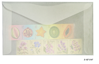 #5 Glassine Envelopes - Qty: 1000