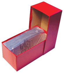 Large Size Currency Box - Red