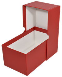 Modern Size Currency Box - Red