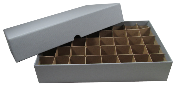 Small Dollar Tube Box - Holds 40 Tubes