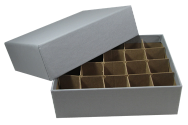Small Dollar Tube Box - Holds 20 Tubes
