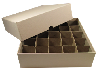Large Dollar Tube Boxes - Holds 25 Tubes