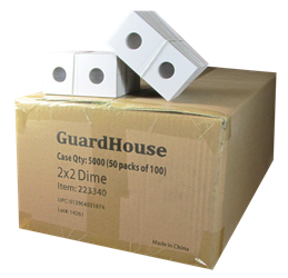 Guardhouse 2x2 Dime - 100/Bundle