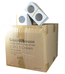 Guardhouse 2.5x2.5 Crown - 100/Bundle