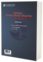 Backing Boards for Golden Comic Book Bag (7 5/8 x 10 1/2) - 100 Pack