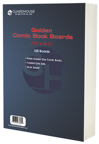 Boards for Golden Comic Book Bag - 100 Pack