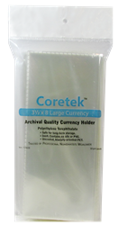 Coretek Large Currency Holder 8 x 3 1/2- 50 pack