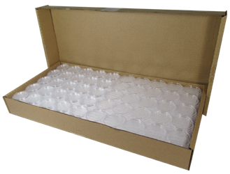 1 oz Gold Eagle bulk 32mm direct fit Guardhouse holders. 250 count box.