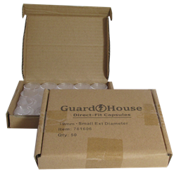 Cent 19mm Direct-Fit Guardhouse coin holders - (S dia) / 50 per box.