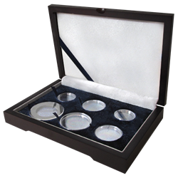 Guardhouse Wood Display Box - GH-W1300 - Ring Fit Mint or Proof Set (Cent - $ 2S,2M,L,XL)