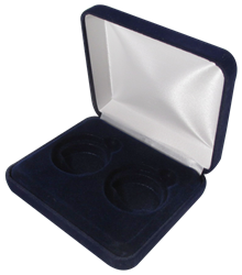 Velvet Coin Display Box - Holds 2L Capsules