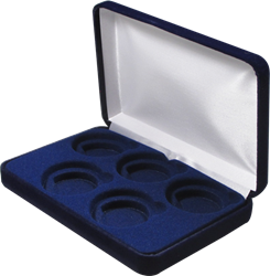 Velvet Coin Display Box - Holds 5L Capsules
