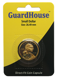 Small Dollar Direct Fit Guardhouse Capsule - Retail Card